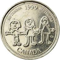 Monnaie, Canada, Elizabeth II, 25 Cents, 1999, Royal Canadian Mint, Ottawa, TTB - Canada