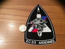 AUTOCOLLANT, Sticker «EC (Escadron De Chasse) 3/3 - Ardennes» (militaire, Armée De L'air, Avion, Sanglier) - Stickers
