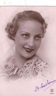 59 MONS EN BAROEUL (A DESTINATION DE). CARTE FANTAISIE . PORTRAIT DE JEUNE FEMME .POUR LA SAINTE CATHERINE. ANNEE 1939 - Femmes