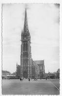 CALAIS EN 1953 - N° 10 - L' EGLISE SAINT PIERRE - FORMAT CPA VOYAGEE - Calais