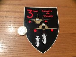 AUTOCOLLANT, Sticker «3eme Escadre De Chasse» (militaire, Armée De L'air, Avion) - Autocollants