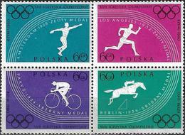 1960 - SPORT - OLYMPIC GAMES ROMA  - Michel 1166-1169 = 2.00 € - 1944-.... République