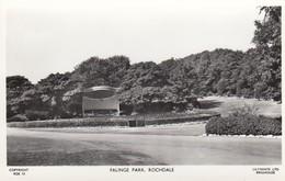 Postcard Falinge Park Rochdale Lancashire RP My Ref  B13028 - Autres