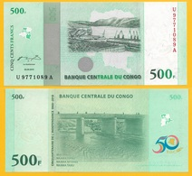 Congo 500 Francs P-100 2010 Commemorative UNC Banknote - Congo