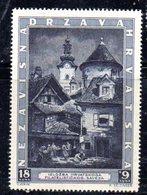 APR470 - CROAZIA 1943 , Serie Unificato Nr.  104  ***  MNH  (2380A). - Kroatië