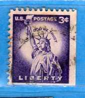 (Us2) USA °- 1954-1961 - Liberty.  Unif. 847.   USED.  Vedi Descrizione - Stati Uniti