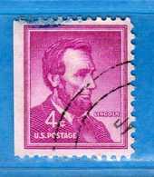 (Us2) USA °- 1954-1961 - Liberty.  Unif. 848.   USED.  Vedi Descrizione - Stati Uniti