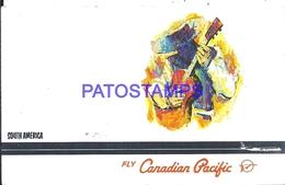 110685 CANADA ART AVIATION FLY CANADIAN PACIFIC POSTAL POSTCARD - Canada