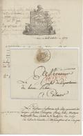Paris 1806 Le Conseiller D'état Domaines Nationaux Liste Des Émigrés Héraldique - 1801-1848: Precursores XIX