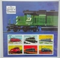 Grenada Carriacou  2000**Mi.3265-70. The World Of Trains , MNH [8;4] - Trains