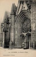 CPA 44 LE CROISIC Le Portail De L'Eglise - Le Croisic