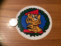 AUTOCOLLANT, Sticker «1 (tigre)» (militaire, Armée De L'air) - Autocollants