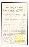 DP Theophile Larnou ° Passendale Zonnebeke 1868 † Ieper 1938 X Emma Ratheiz - Images Religieuses
