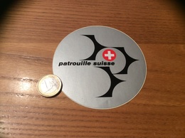 AUTOCOLLANT, Sticker «patrouille Suisse» (militaire, Avion) - Autocollants