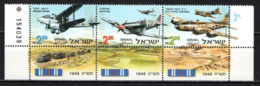 ISRAELE - 1998 - Aircraft Used In War Of Independence  - MNH - Israele