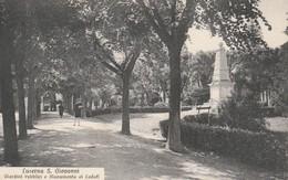LUSERNA S. GIOVANNI - GIARDINI PUBBLICI E MONUMENTO AI CADUTI - Italie