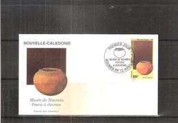 FDC Nouvelle Calédonie - Poterie à Chevrons - 1998 (à Voir) - FDC