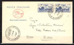 ITALIA - 1969 - GIORNATA DEL FRANCOBOLLO - FDC CAVALLINO SARDO - 6. 1946-.. Repubblica