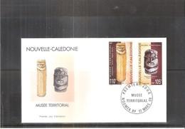 FDC Nouvelle Calédonie - Musée Territorial - 1998 (à Voir) - FDC