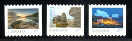 Canada 2019, From Far And Wide, DIE CUT  From Booklet Set Of 3 Rates - Carnets
