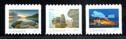 Canada 2019, From Far And Wide, DIE CUT  From Rolls Set Of 3 Rates - Roulettes