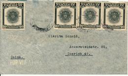 PARAGUAY - 1947 , Brief Nach Zurich / CH - Paraguay