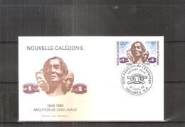 FDC Nouvelle Calédonie - Abolition De L'Esclavage - 1998 (à Voir) - FDC