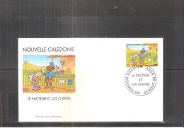 FDC Nouvelle Calédonie - Le Facteur Et Les Chiens - 1998 (à Voir) - FDC