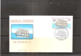 FDC Nouvelle Calédonie - Le France II - 2001 (à Voir) - FDC