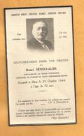 IMAGE GENEALOGIE FAIRE PART AVIS DECES CARTE MORTUAIRE BOURG ARGENTAL  SENECLAUZE CHEVALIER SAINT GREGOIRE  1872 1944 - Obituary Notices