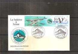 FDC Nouvelle Calédonie - La Baleine à Bosse - 2001  (à Voir) - Baleines