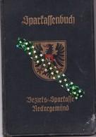 Duitse Rijk, Spaarboekje 1939/1960, Compte D'épargne, Riche Allemande - Documents Historiques