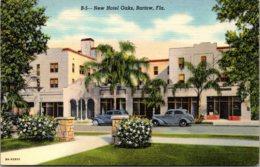 Florida Bartow New Hotel Oaks 1941 Curteich