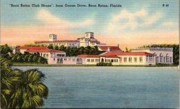 Florida Boca Raton The Boca Raton Club HOuse From Ocean Drive 19