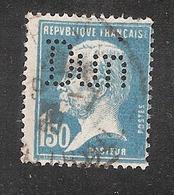 Perforé/perfin/lochung France No 181 Dun R.G. Dun Et Cie (105) - Perforés