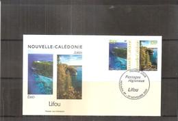 FDC Nouvelle Calédonie - Paysages Régionaux - Lifou - 2001  (à Voir) - FDC