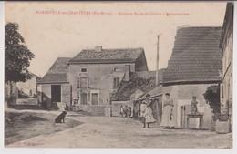 HARREVILLE LES CHANTEURS (52) : ANCIENNE ROUTE DE CHALAIS A SARREGUEMINES - CLICHE PEU COURANT - ECRITE 1911 - 2 SCANS - - France