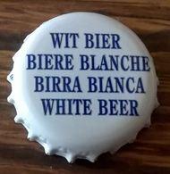 Belgique Capsule Bière Crown Cap Beer Brasserie Lefebvre Blanche De Bruxelles - Bière