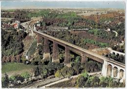 Cpsm 23 Environs AHUN BUSSEAU SUR CREUSE Viaduc Constructeur Eiffel - France