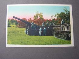 Camp Du Larzac , Panzer Und Kanone - Guerre 1914-18