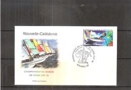 FDC Nouvelle Calédonie - Championnat Du Monde De Hobie Cat 16 - 2002  (à Voir) - FDC