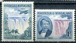 RHODESIA & NYASALAND 1955 - Centenary Of Discovery Of Victoria Falls. MNH** - Rhodésie & Nyasaland (1954-1963)