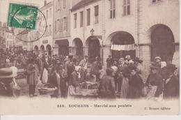 71 - LOUHANS - MARCHE AUX POULETS - BELLE ANIMATION - Louhans