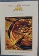 Petit Calendrier De Poche 2005 Almanach Du Chocolat Mois De Janvier Galette Des Rois En Chocolat - Calendriers