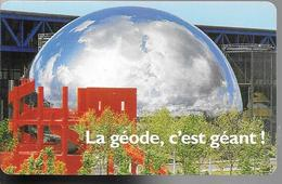 -CARTE-PASS-GEODE-1989-La GEODE C Est GEANT-V° SPEOS N°02089402-TBE - France
