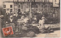 85 - LES SABLES D'OLONNE - INTERIEUR DE LA POISSONNERIE - BELLE ANIMATION - Sables D'Olonne