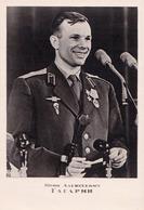 YURI ALEKSEYEVICH GAGARIN - FIRST MAN IN SPACE - CARTE VRAIE PHOTO / REAL PHOTO POSTCARD ~ 1962 - '965 (ac053) - Espace
