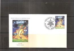 FDC Nouvelle Calédonie - Noël 96    (à Voir) - FDC