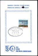 Bolivia 1986 CEFIBOL 1267T. Tarjeta Conmemorativa 50 Años De Yacimientos Petroliferos Bolivianos. - Bolivie