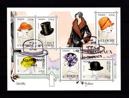 Bloc Feuillet Les Chapeaux / Obl 1er Jour 09/11/2018 - Sheetlets